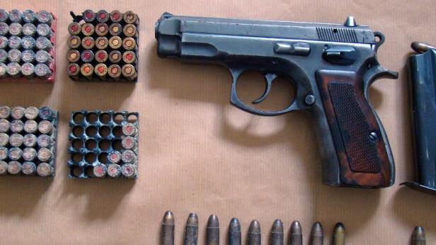 Zatrzymany za nielegalną broń ksp