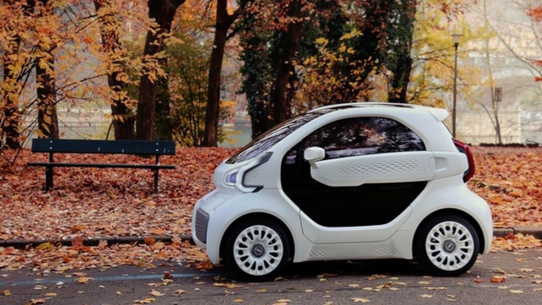 Auto w całości wydrukowane za pomocą technologii 3D