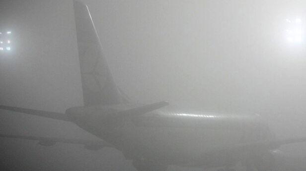 Mgła utrudnia prace lotnisk Archiwum tvnwarszawa.pl