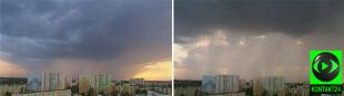 Orszak chmur nad Bydgoszczą