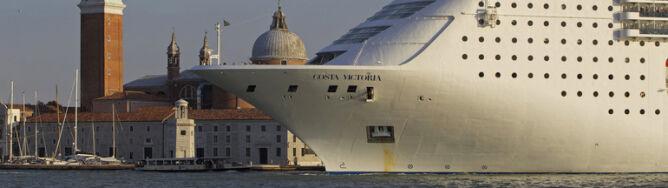Olbrzymie statki nie zbliżą się już do Wenecji