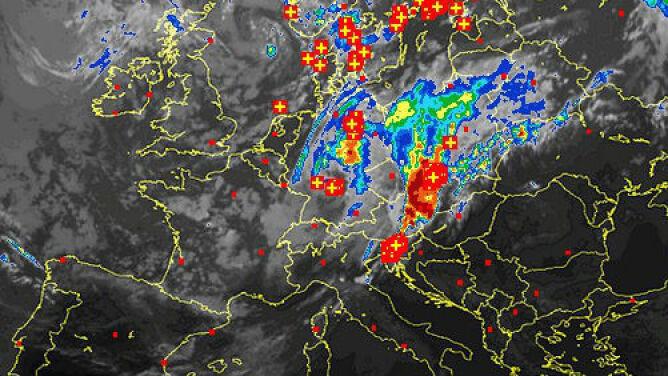 """Verena może dać się we znaki. """"W skali Polski to niebezpieczny, dynamiczny cyklon"""""""