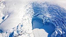Czoło lodowca w północno-wchodniej Grenlandii