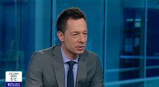 Tomasz Wasilewski o emisji CO2 (TVN24)